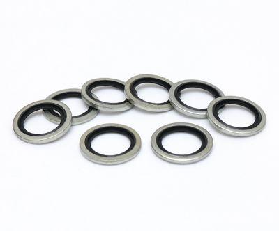 法国工制螺纹耐磨耐油ISO R261 BS3643密封组合垫圈厂家供应