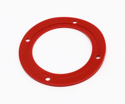 LFGB认证PTFE密封挡圈聚四氟乙烯挡圈红色