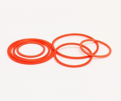厂家ROHS认证NBR丁氰橡胶挡圈美标AS568橙色