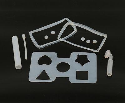 厂家供应可定制白色橡胶垫片杂件加工工业用橡胶异形密封件