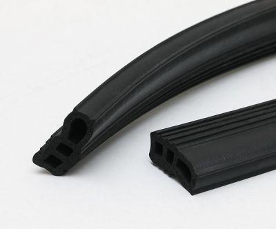 黑色方形橡胶条 三元乙丙密封橡胶管 橡胶发泡密封条