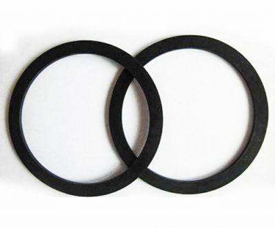 NBR邵氏70度reach认证黑色橡胶挡圈可加工定制