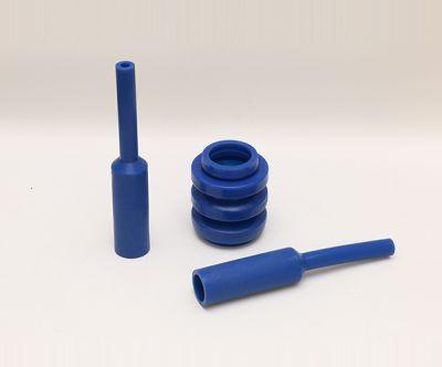 来样来图定做LFGB认证蓝色橡胶异形密封件制品