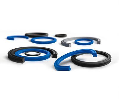 NBR丁氰橡胶橡胶星型圈蓝色黑色X型密封圈美标AS568邵氏A80度